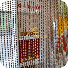 New style metal string curtain with beads