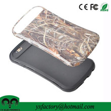 2 in1 Straw Grass Camo Hybrid PC+Soft TPU mobile phone case cover for apple iphone6