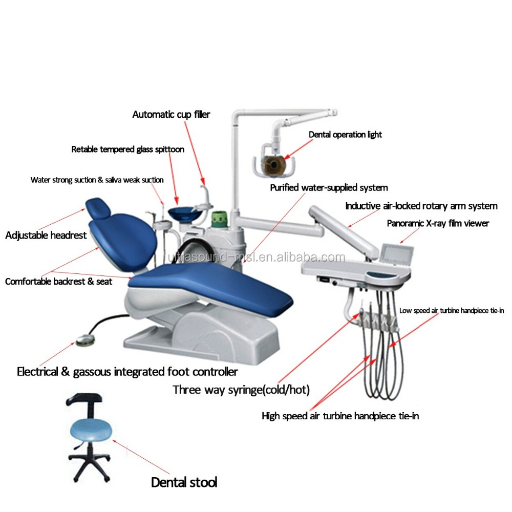 Japan Dental Supply Dental Unit Dental Chair Dental