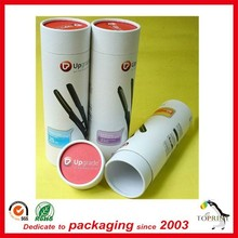 2015 special design hair packaging tube round box for hair pin packaging wholesale