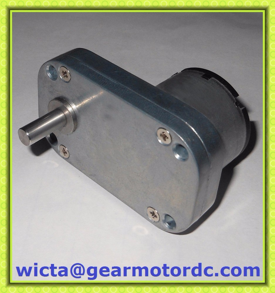 Compact flat gearbox low speed 4 5v 6v electric small for Low speed dc motor 0 5 6 volt