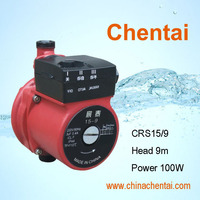 "Chentai hot water mini solar automatic circulation booster pump 3/4"" 160mm CRSZ15/9 CRS15/10"