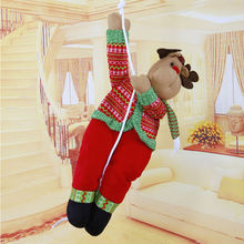 Wholesale Christmas items, Christmas decorations, Santa Claus climbing rope Crafts