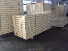PU Sandwich Panel widely used as cold storage panel, wall and roof panels for modern building, factory and warehouse