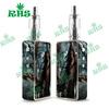 2015 dry herb vaporizer stickers/skin/silicone case for snowwolf 200w 1:1 clone snowwolf 200watt