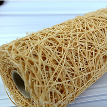 sisal web mesh flower wrapping material