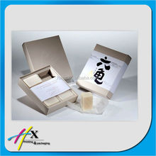 new products 6 piece hand made soap packaging paper box with sleeve