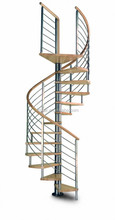 Hot Selling interior prime glass spiral stairs/wrought iron spiral staircase