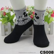 hoe sale cute children socks with criping designs on the ribs