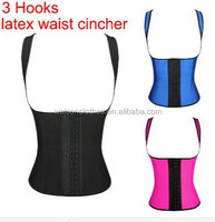 2015 real picture!!!! Instyles Women Cheap Wholesale Waist Training Corsets Latex Waist Cinchers