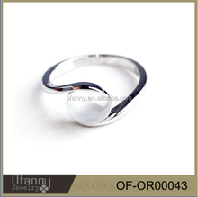 Hot 15 years factory sell fashion moonstone ring