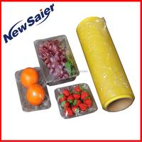 clear household pvc cling film fresh pvc cling film plastic wrap