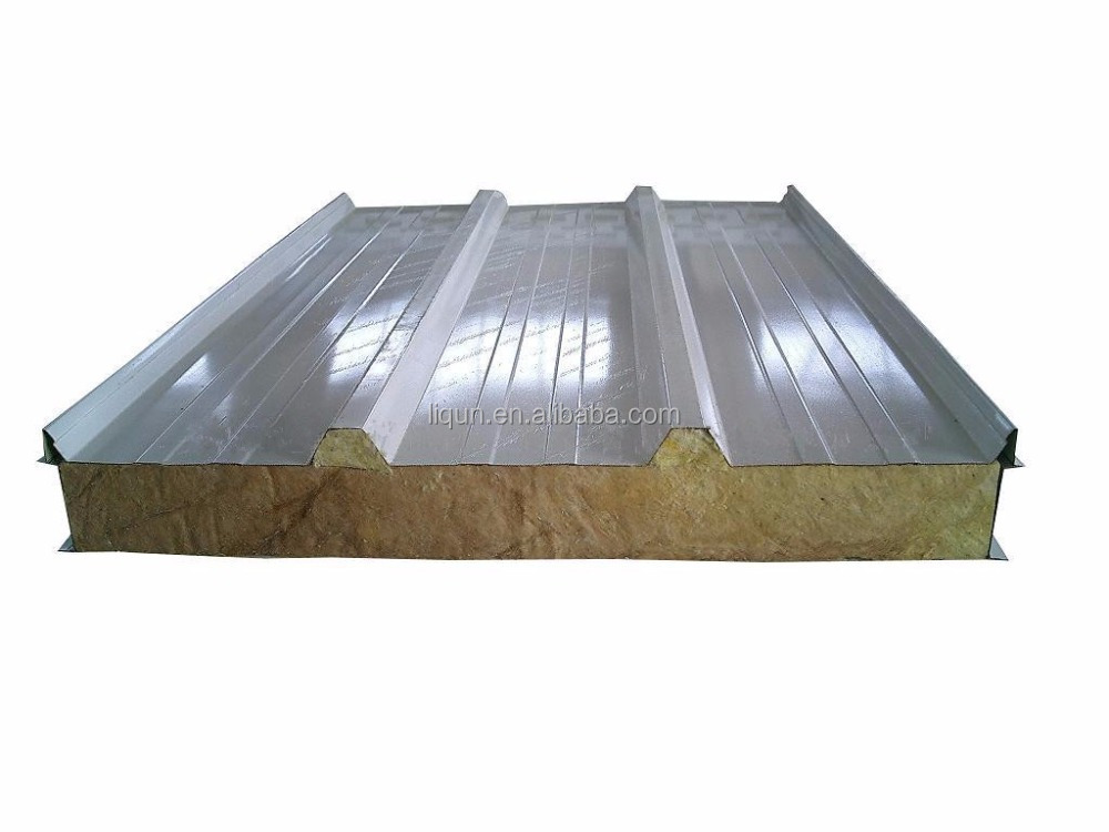 Fire Rated Roofing : Fire rated sandwich panel with metal for wall and roof