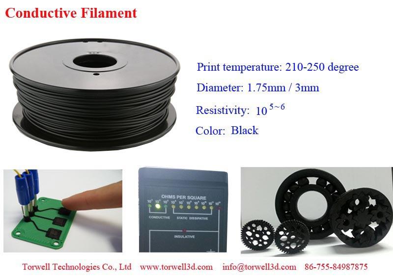 conductive filament.