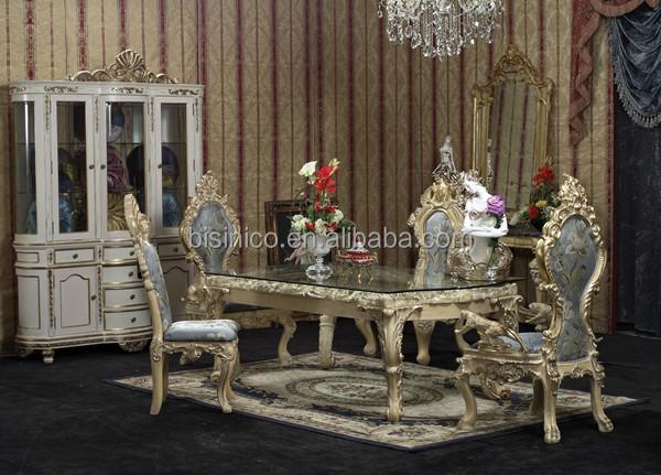 Luxe palais manger meubles exquise sculpture sur bois for Ensemble de salle a diner