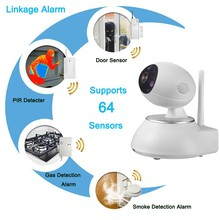 Wireless 720P HD IP Network Home Video Security Cameras Wifi With Two Way Audio