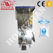 Hongzhan HP-1000L water milk beverage sauce vinegar automatic price pouch packing machine