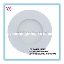 6w/12w/18w with CE RoHS Stable working round led panel light