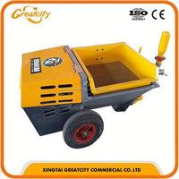 cement mortar pump,concrete spray wall plastering machine,mortar spraying equipment