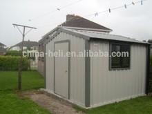 Casa con struttura in acciaio, mobile in acciaio casa, stand in acciaio o stazione