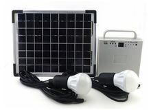 2015 new products portable 12w solar panel mini solar LED home lamp/solar home light/solar lighting kit
