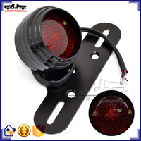 BJ-LPL-035 Recommended Billet Aluminum Black LED Sportbike Motocross Motorcycle Brake Tail Light
