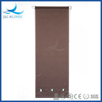Cheap price brown color roller shades