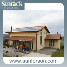 2015 pitched tile roof solar panel mounting system aluminum support structure