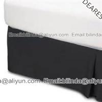 bedding set- bed skirt for 5star hotel, decoration bed skirts