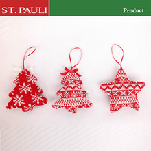 wholesale alibaba white and red color series decorative luxury christmas ornament