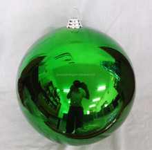 direct factory popular custom 40cm plastic christmas ball ornament