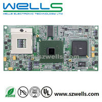 10 Layer PCBA, Car PC Mother Board, PCB, PCBA with BGA