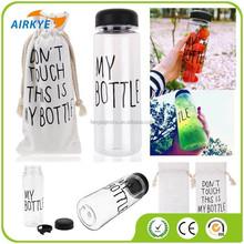New My Bottle Health Fruit Juice Sport Portable Travel Drink Water Bottle 500ML
