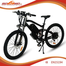 Electric dirt bike 500w brushless Motor E bike (2015) 48V Lithium Electric bike