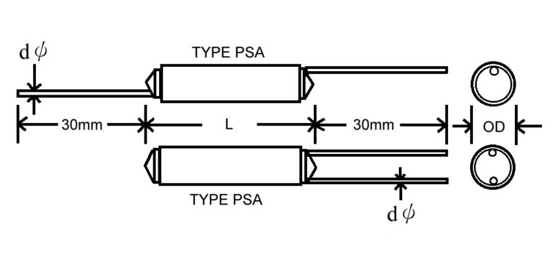 Polystyrene Film Capacitor Polystyrene Film Capacitor