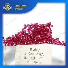 loose natural rough ruby for jewelry