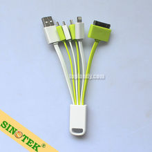 SINOTEK 5in1 promotion gift for iphone 5 charger cable