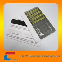 High Coercivity magnetic stripe pvc Loyalty card