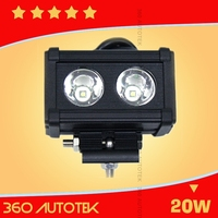 cheap price waterproof flood spot beam lamp trucks, 4x4 offroad, ATV,SUV, BOAT 20w led light bar