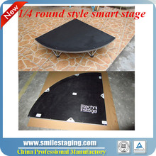 High Quality Aluminum Plywood portable Stage assembly stage