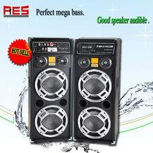 Factory direct selling home theater active speaker DJ disco light speaker powered karaoke concert wedding sound system