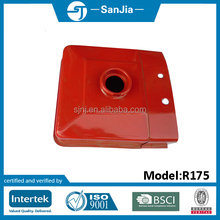 Tractor parts diesel fuel tank R175 in red color or as required