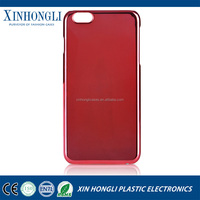 for iphone 6 Case Clear Crystal Transparent Electroplate Hard PC Back Cases Cover