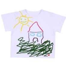 Baumwolle schöne Bilder kinder t-shirt