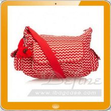 Red stylish cross body bag women