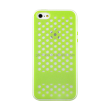 silicone spotted phone case for iphone/samsung/others