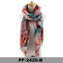 Fashion 2015 Women Long Print silk Scarf Wrap Ladies Shawl Girls Large voile Scarves