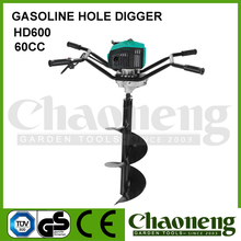 Chaoneng 2-stroke gasoline ground/ice driller, ice/earth auger