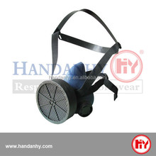 CE marked Anti-toxic Latex ABEK1 half gas mask with twin filter cartridge