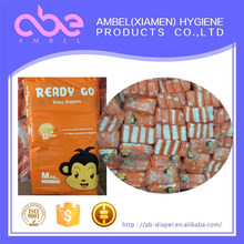 High Quality Large Quantity Cheapest Disposable Baby Diaper in Bale supplier in china